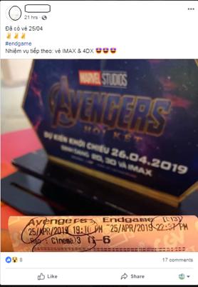 Avengers lập kỷ lục 200.000 vé bán trước tại Việt Nam trong 24 giờ - 1