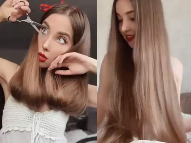 Làm thế nào để làm tóc dài thành ngắn không cần cắt