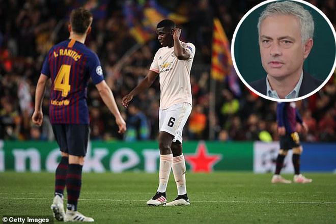 """MU thua đau Barcelona Cúp C1: Mourinho lên giọng """"dạy dỗ"""" Solskjaer - 1"""