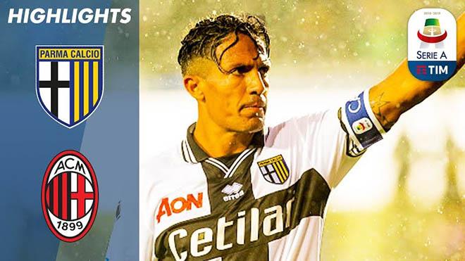 Parma – AC Milan: Tuyệt tác đá phạt lung lay mộng cúp C1 - 1
