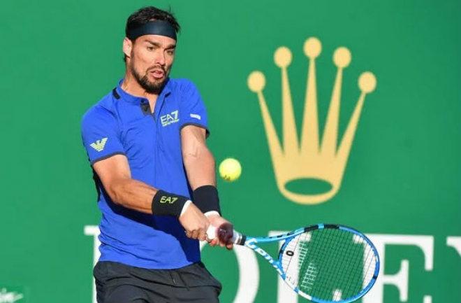 """Nadal - Fognini: """"Đại địa chấn"""" 2 set thăng hoa tuyệt đỉnh - 1"""