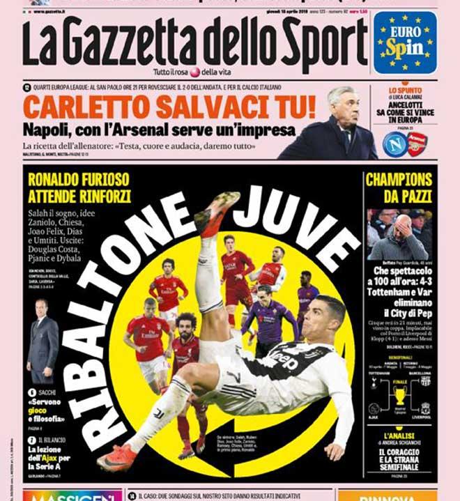 Juventus cay đắng rời Cúp C1: Ronaldo đổ lỗi đòi bán 6 đồng đội - 1