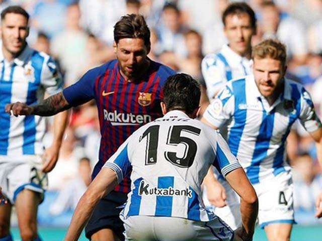 Trực tiếp Barcelona - Real Sociedad: Những phút cuối gay cấn (KT)