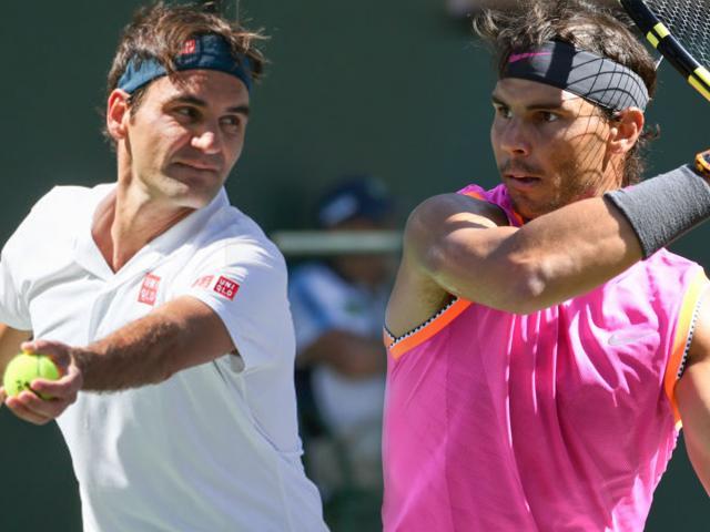 """Bảng xếp hạng tennis 22/4: Nadal mất """"núi"""" điểm, cờ đến tay Federer"""