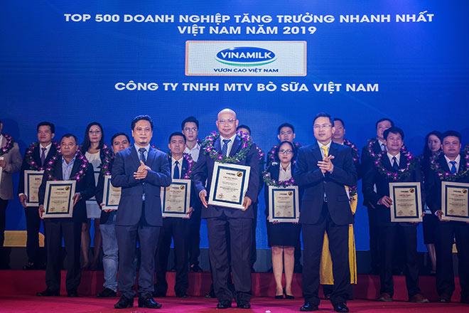 Công ty bò sữa Việt Nam thuộc Vinamilk lọt top tăng trưởng nhanh nhất Việt Nam - 1