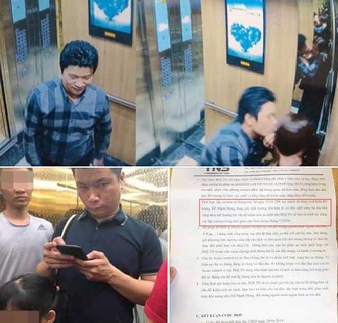 """Kẻ sàm sỡ """"Hùng 200k"""" xuất hiện trong thang máy, chung cư Hà thành náo loạn - 1"""