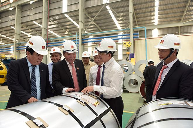 Tập đoàn Hoa Sen tiếp tục đẩy mạnh xuất khẩu, khánh thành nhà máy tôn lớn nhất miền Trung - 1