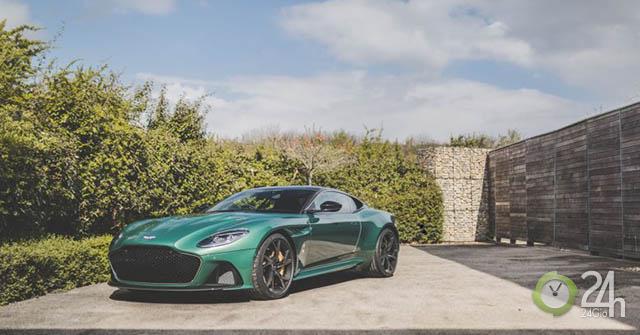 Số lượng giới giạn với 24 chiếc cho siêu phẩm Aston Martin DBS 59 Edition được sản xuất trên toàn thế giới