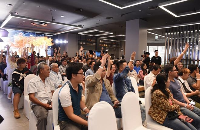 Đạo diễn Quang Dũng chia sẻ chuyện hậu trường trên Samsung TV QLED 8K đắt giá nhất thế giới - 1