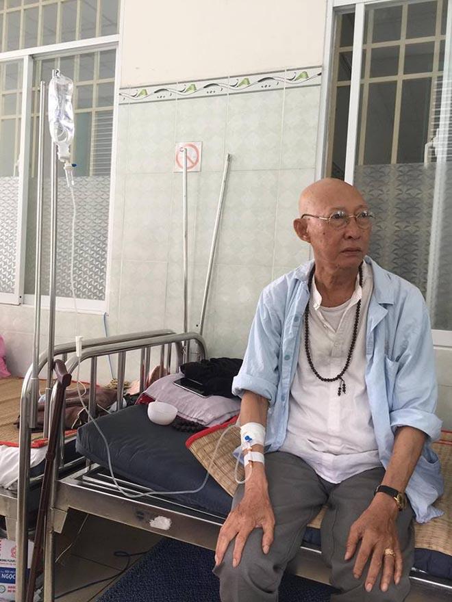 Nghệ sĩ Lê Bình hiện ra sao sau khi bệnh ung thư từ phổi di căn sang tủy? - 1