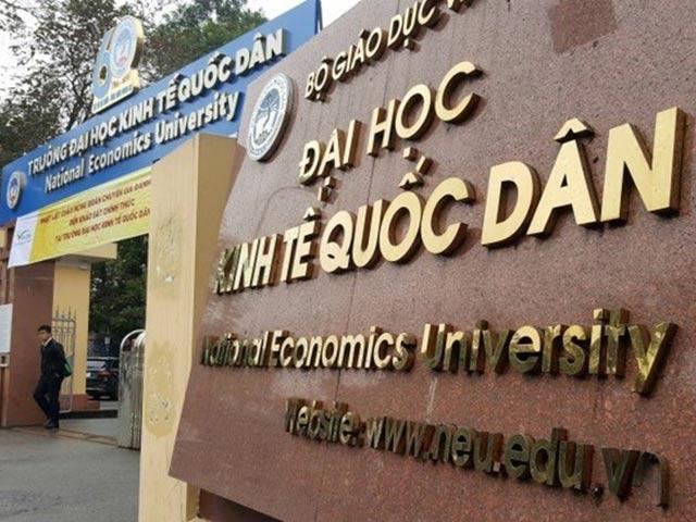 Lộ diện hàng loạt thí sinh gian lận thi cử ở Đại học Kinh tế quốc dân