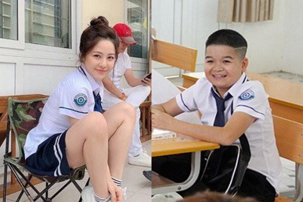 """Chân dung Hoàng Thùy Linh 9X thay thế hot girl Trâm Anh trong phim """"Siêu quậy"""" - 1"""