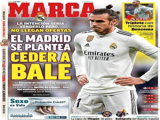 """Gareth Bale """"khốn cùng"""" tại Real: MU quay lưng, đại hạ giá mùa hè"""