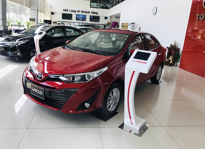 Bảng giá xe Toyota Vios 2019 lăn bánh - Hỗ trợ mua xe trả góp lãi suất chỉ từ 3.99% - 1