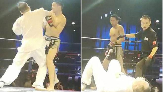 Võ sỹ MMA 1 đấm hạ cao thủ Võ Đang: Võ Trung Quốc nóng như lửa - 1