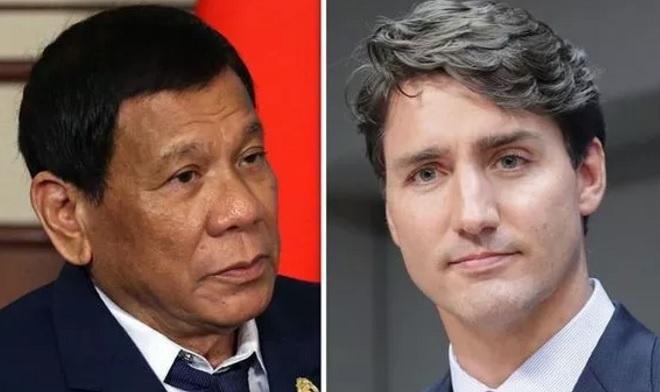 Tổng thống Philippines bất ngờ dọa chiến tranh với Canada - 1