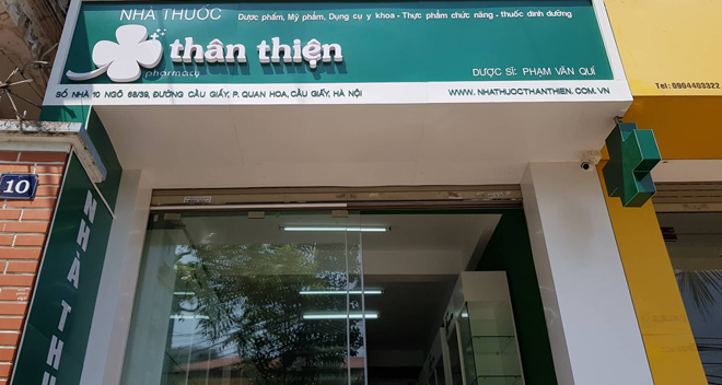 Nhà thuốc Thân Thiện - Nơi mua thuốc uy tín tại Hà Nội - 1