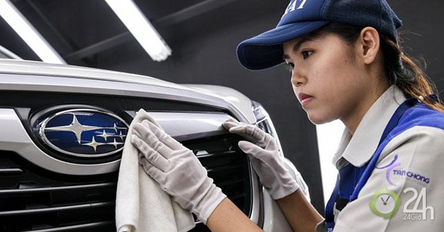 Nhà máy lắp ráp xe Subaru đầu tiên tại Châu Á đi vào hoạt động