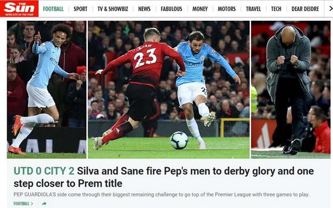 MU thảm bại derby: Báo Anh chê quá yếu, chờ Man City nâng cúp Ngoại hạng Anh - 1