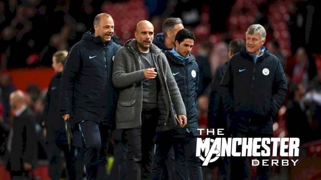 Man City đại thắng MU: Solskjaer khốn khó, Pep Guardiola chưa nghĩ vô địch - 1