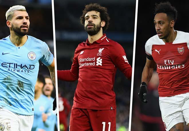 Tin HOT bóng đá tối 25/4: Aubameyang tự tin đánh bại Aguero và Salah - 1