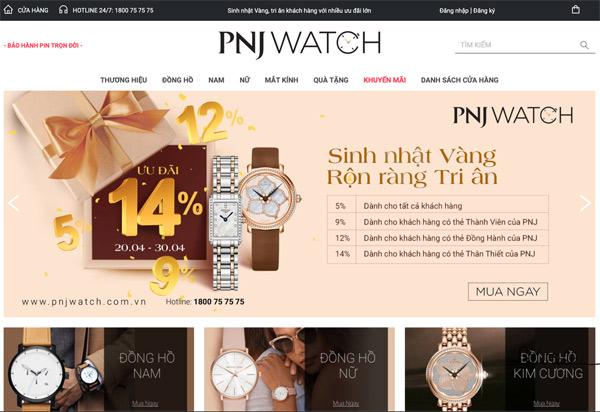 PNJ khuyến mãi khủng mừng sinh nhật khi mua đồng hồ tại PNJ Watch - 1