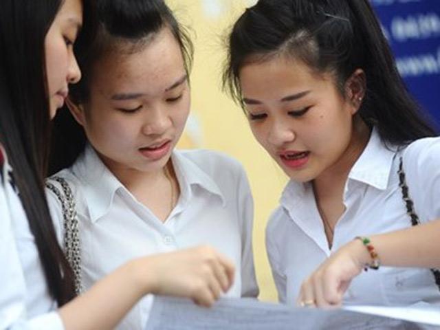 Bài thi trắc nghiệm tại các cụm thi THPT quốc gia sẽ do trường đại học chấm