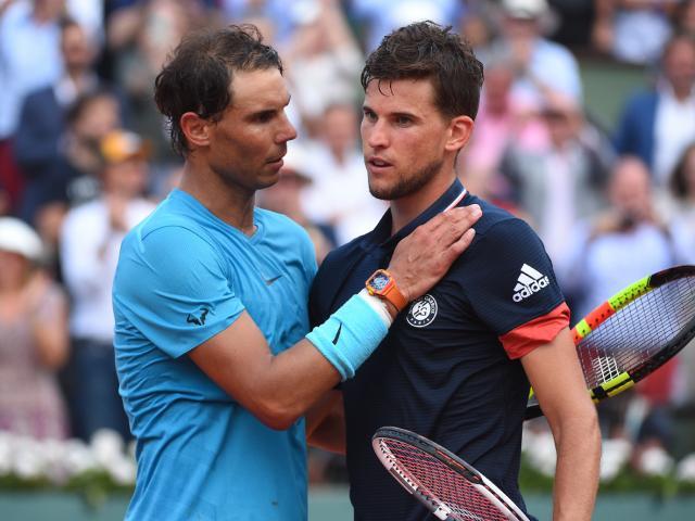 Trực tiếp tennis Nadal - Thiem: Hứa hẹn đôi công hấp dẫn