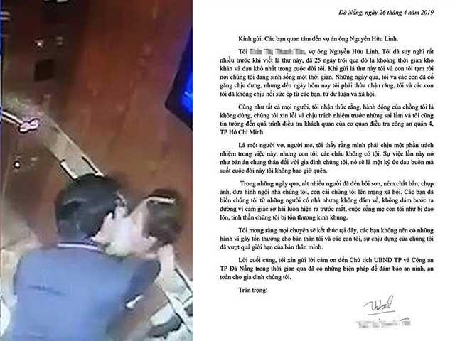 Vợ ông Nguyễn Hữu Linh rút đơn tố cáo gửi công an