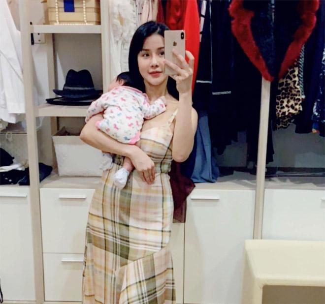 Diệp Lâm Anh mang thai lần hai sau 5 tháng sinh con - 1