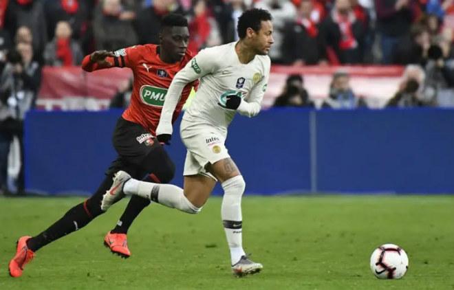 PSG - Rennes: Thẻ đỏ, 2 siêu phẩm 8 phút & loạt penalty cân não - 1