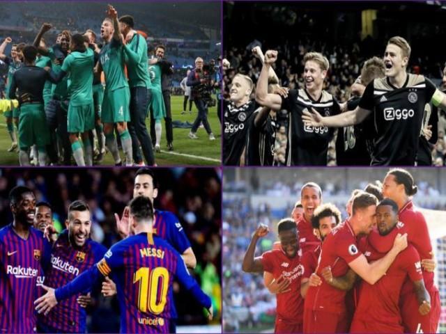 """Siêu máy tính dự đoán bán kết cúp C1: Cú sốc Barca, Ajax tạo """"địa chấn"""""""