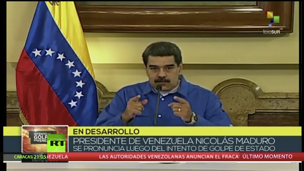 Tổng thống Venezuela tuyên bố đã đánh bại đảo chính - 1