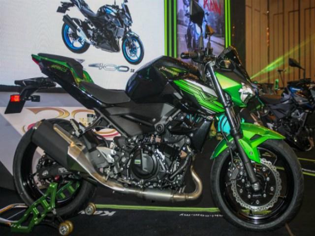 2019 Kawasaki Z400 SE ABS, Z250 ABS chốt giá từ 124 triệu đồng