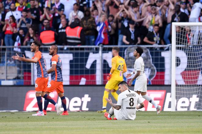 Montpellier - PSG: 2 bàn phản lưới và 5 phút hãi hùng - 1