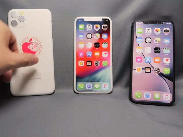 HOT: Bộ ba iPhone 2019 đã hiện nguyên hình