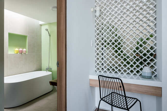 Phòng tắm tinh tế và hiện đại