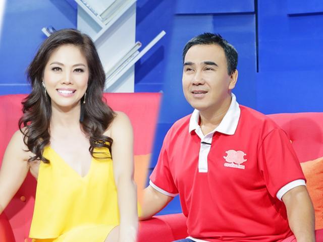 Phản ứng của MC Quyền Linh với nữ ca sĩ 3 lần ly hôn tuyên bố muốn độc thân