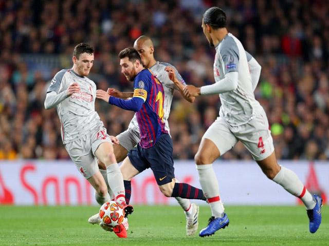 """Barca đại thắng Liverpool Cúp C1: Messi chê đàn em, HLV sợ tái hiện """"thảm họa Roma"""""""