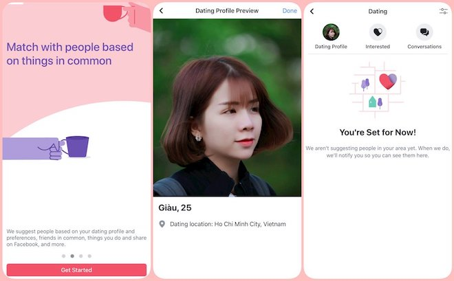 an important dating app