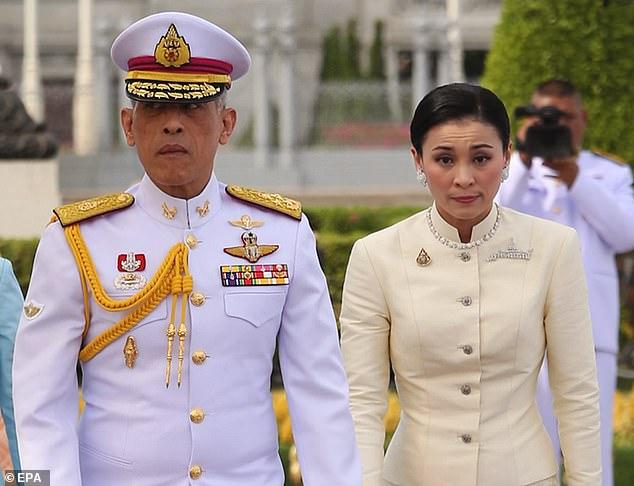 Hoàng hậu mới của Thái Lan từng gặp nhà vua như thế nào? - 1