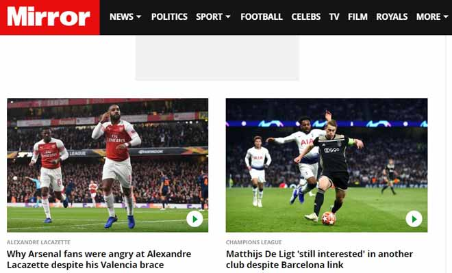 Arsenal, Chelsea đấu Europa League: SAO ghi cú đúp vẫn bị báo Anh chê bai - 1