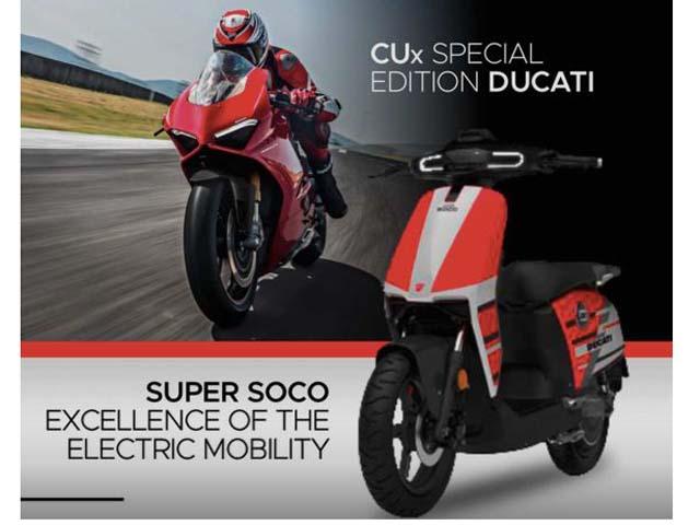 Ducati tiết lộ xe điện CUx Special Edition Ducati: Hòa quyện phong cách Âu - Á