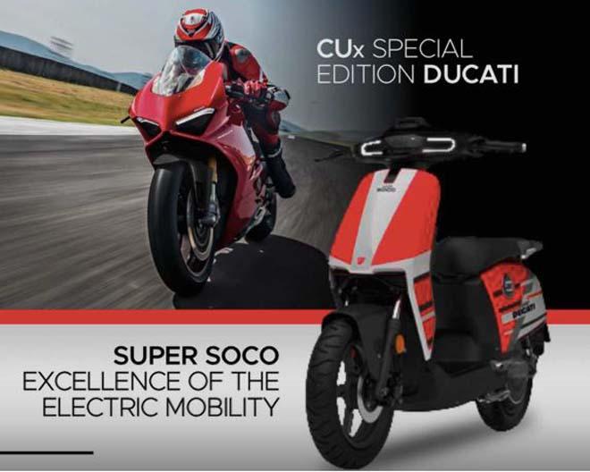Ducati tiết lộ xe điện CUx Special Edition Ducati: Hòa quyện phong cách Âu - Á - 1