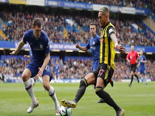 Chelsea - Watford: Hiệp 2 bùng nổ, chen chân top 3