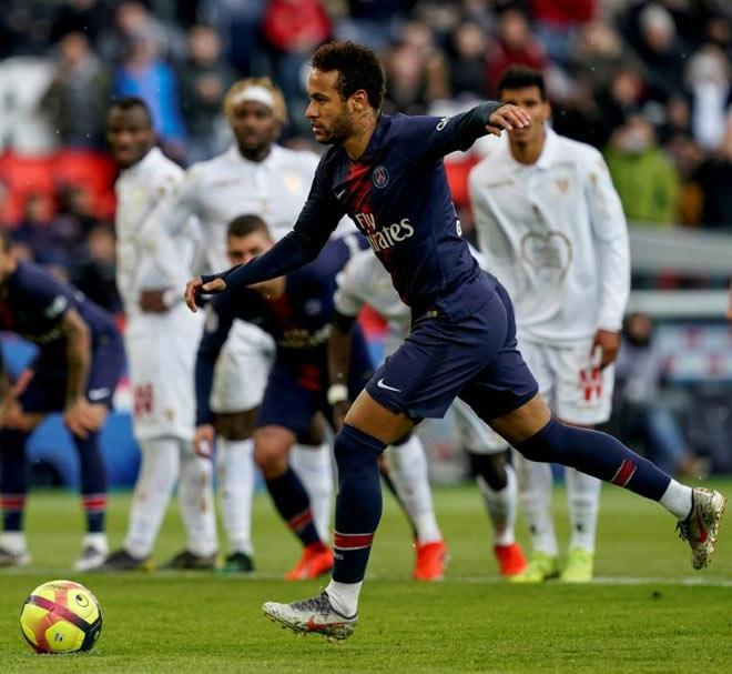 PSG - Nice: Neymar giải nguy, Cavani hóa tội đồ phút bù giờ - 1