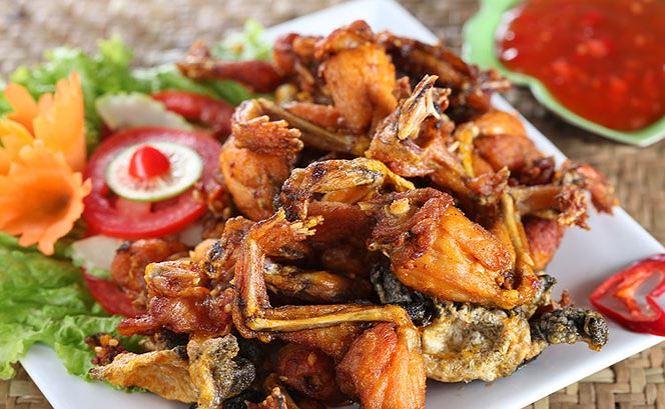 Món ăn từ thịt ếch bổ thận tráng dương, chữa tiểu đường cực tốt - 1