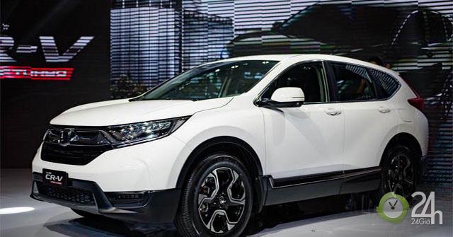 Bảng giá xe Honda CRV 2019 lăn bánh - Ưu đãi tiền mặt cùng nhiều quà tặng giá trị