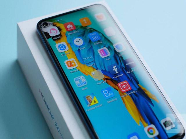 Honor 20 Pro có thể cạnh tranh trực tiếp với Huawei P30 Pro