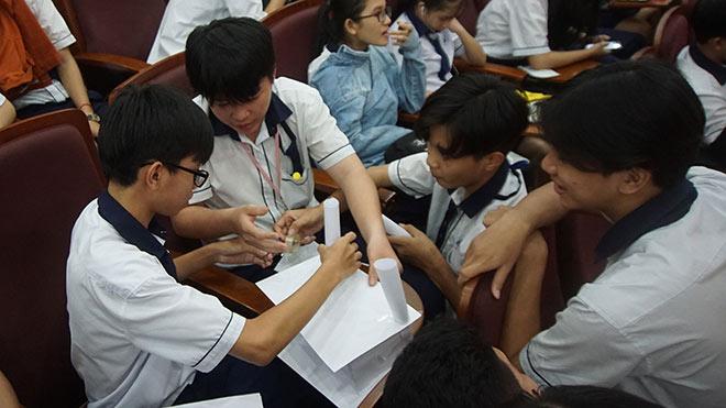 Trường công lập giải tỏa áp lực thi tuyển vào lớp 10 bằng phương án xét tuyển linh hoạt - 1